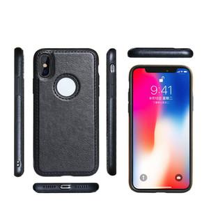 Business-TPU Telefon-Kasten für iPhone 11 Pro MAX XS XR X 8 Plus Samsung note10 S10e Stoß- PU-Leder-weiche rückseitige Abdeckung