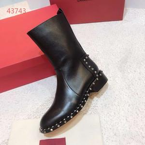 prix chape femmes bottes top qualité cheville mode bottes pour femmes designer chaussures de luxe bottes d'automne et d'hiver taille 35-40