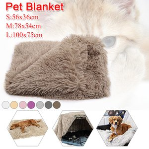 Winter Warm Soft Long Plush Pet Blanket Double Layer Dog Cat Blanket