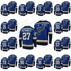 91 Vladimir Tarasenko St. Louis Blues 2020 Stanley Cup Playoffs Jersey Alex Pietrangelo Ryan O'reilly David Perron Binnington Allen Hoodies