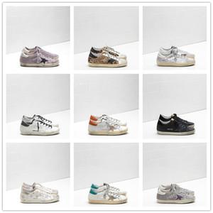 2020 Designer Shoes Golden Women Men Gooses Platform Shoes Basketball Loafers Clog Plate-forme Kanye Running Sneakers