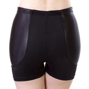 Nouveau Faux Hip Pads Womens Knickers Sous-vêtements Rembourrés Hanche Rembourrage Enhancer Abundant Ass Fesses Shaper Culottes Panties Boyshorts Traceless