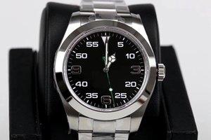 2813 RO نمط الرجال الأوتوماتيكية غير القابل للصدأ حركة Air 2020 Male Watch Watch Dial 316 New Band King Black Monor Hemmo Pkijd