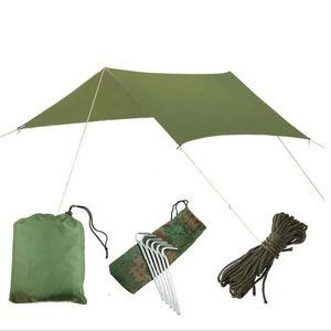 Outdoor toldo multi-funcional impermeável Prevent aquecer no caramanchão do pára-sol tenda Fino e leve Damp mat prova Outdoor Furniture YSY275