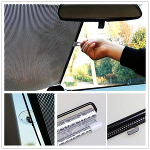 سيارة ظلال الشمس نافذة Sunshade أوتوماتيكية Retractable Sun Block Roller Blind Pvc ستارة سيارة Visor الواجهة الأمامية الزجاج الأمامي Sunshade