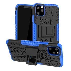 Für Iphone 12 Pro Samsung Galaxy Note 20 S20 Ultra-LG Stylo 6 Hybrid Rüstung Kickstand Halter-Kasten-Reifen-Design-Handy-Abdeckung