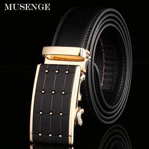 Ремень Cinto Designer Belt Luxury Ремень из натуральной кожи для мужчин Riem Cinto Masculino Luxo Gold Dot Автоматическая пряжка Новые Горячие мужские ремни Новые