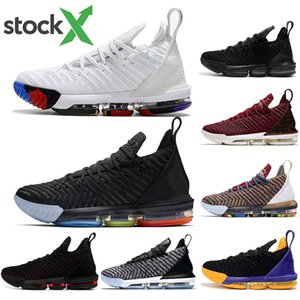 with free socks new luxury 16 Mens Basketball shoes James 16 Brand Sports Sneakers High Quality Comfortable Low Cut Trainers size 40-46