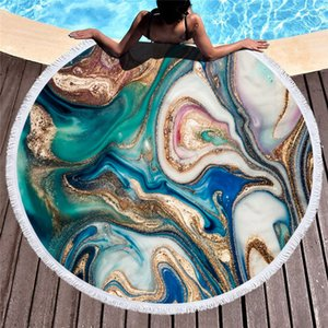 540g toalla grande Ronda Beach Para Adultos colorido del modelo de la arena movediza de microfibra toalla de baño Ducha viaje Manta Piscina cubierta DHA141