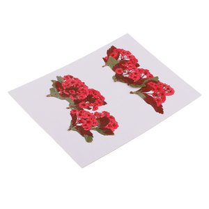 10 Pièces Naturel Vraie Fleur Rouge Pressé Fleurs Séchées Pour Le Bricolage Ornement Artisanat Fabrication De Bijoux Pendentifs Charmes