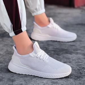 Venta caliente de los zapatos de moda casual hombres de la primavera otoño masculinos del zapato con cordones zapatillas de deporte de luz cómodos zapatos planos Zapatos de Ocio