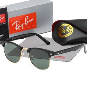 New 3016 Hot Aviator Ray Sunglasses Vintage Pilot Brand Sun Glasses Band Polarized UV400 Bans Men Women Ben sunglasses