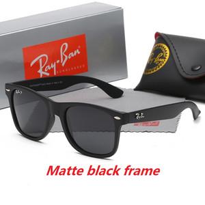 High Quality Polarized Lens AviatorRay Sunglasses Vintage Pilot Eyewear Sun Glasses Band UV400 Men Women Ben Bans Sunglasses With Case Box