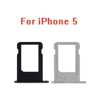 100pcs lot SIM Card Holder Tray Slot for iphone 5 S C 5C 5S 5G SE 5SE Replacement Part SIM Card Card Holder Adapter Socket Apple