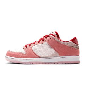 avec la boîte 2020 pour hommes et femmes en cours Sneakers Chaussures pour hommes Low Rose Strange Love CT2552-800 Formateurs Taille US11
