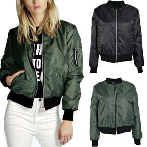 Jacket Mulheres Brasão Casual Jacket Oblique Zipper Motorcycle Jacket Brasão Tops Rua Casacos