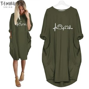 2020 New Fashion Shirts Dog Cat Heart Print Tops Plus Size Tshirt Funny Clothing Kyliejenner Tshirt Women Plus Size