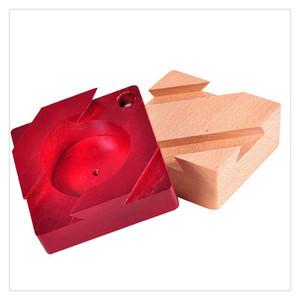 Wooden Secret Box Kreative Geschenkbox für Hidden Diamond Jewelry Cash Surprise für Gefährten Liebhaber Freunde Lernen