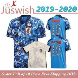 2020 Japan Home Away Soccer Jerseys #4 HONDA 19 20 National Team Soccer Shirt #10 KAGAWA #9 OKAZAKI Men Football Uniforms
