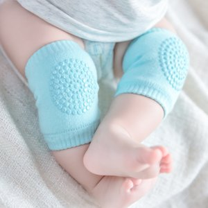 20 Pairs Mix Wholesale 0-1 Years Baby Knee Pad Kids Safety Crawling Cushion Protect Cap Cotton Non-Slip Warm Thickening Socks Sheathed