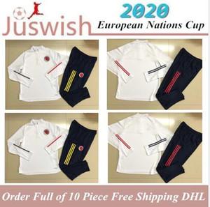 Eurocopa 2020 Bélgica Gales del hombre de la chaqueta Argentina Colombia tren camiseta de chándal de fútbol Messi Lukaku Bale camisas de entrenamiento de fútbol Italia