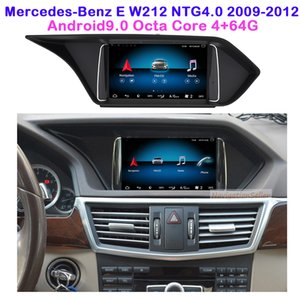 Car dvd Navigation stereo multimedia player Android 9.0 for Mercedes-Benz E-class W212 NTG4.0 2009-2012 3 way USB suppport carplay optional