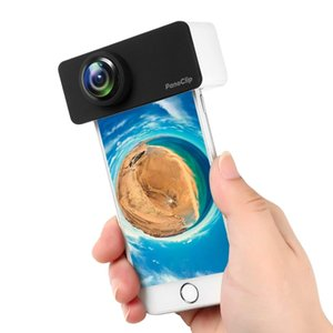 Camera lens in mobile phone lens 360 degree fish eye wide angle external camera mobile panoramic lens for iPhoneX 7 8 7  8 plus