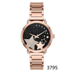 2018 Orologio da donna personalizzato moda M3794 M3795 M3621 + scatola originale + all'ingrosso e al dettaglio + spedizione gratuita