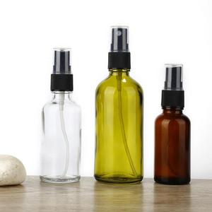 Aihogard 100/50 / 30ML Portable Rechargeables Huile Essentielle liquide Pulvérisateur bouteille vide Pulvérisateur maquillage parfum en verre Atomiseur
