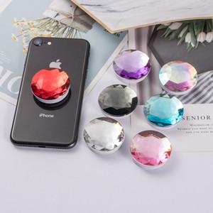 Support universel de support de support de sac de support de diamant de colle de diamant de la colle 3M pour iPhone 2019 XS Max XR 8 7 Plus de Samsung S10 Note 9 10 Pro