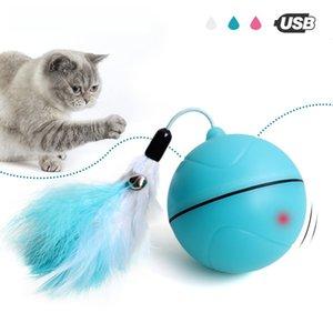 Yooap Kreative Katze Spielzeug Interaktive Automatische Rollkugel Für Hunde Smart LED Flash Katze Spielzeug Elektronische Hund