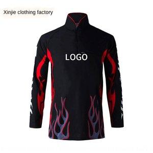 Наружной SunScreen мужской одежды одежды быстросохнущей антиультрафиолетовой рыболовную одежду с длинным рукавом с капюшоном рыболовной одежды