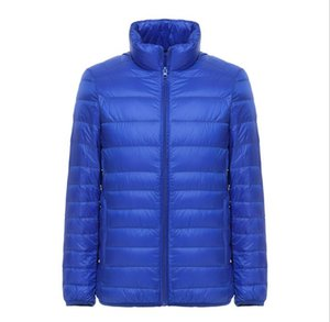2020 autumn and winter new products 90 white duck down short stand collar light down jacket men's casual jacket tide fast delivery