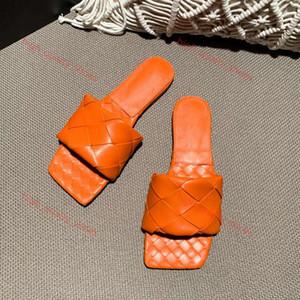 Bottega Veneta BV slippers Xshfbcl kadın terlik kare katır ayakkabı tabanlık Nappa kuzu derisi kadın Ayakkabılar sandalet lüks bayan düz sandaletler en kaliteli boyutu 35-42