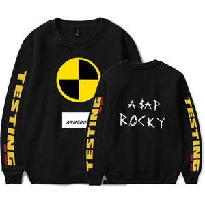 hip hop ASAP ROCKY Sweater women men Rapper A$AP Rocky Kawaii printed Harajuku Funny Hoodie Sweater Unisex kpop Tracksuit