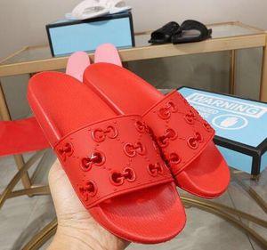 2020 womens cut-out kauçuk slayt sandalet kız sportif havuz Flats terlik Katır boyut Euro Öncesi Güz 36-46