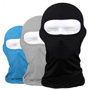 500pcs Lycra Balaclava Planche à roulettes Masque tactique couverture UV Protect masque facial chaud coupe-vent Faire du vélo Coiffures SN2546