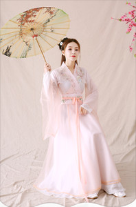 New Chinois traditionnel Femmes Hanfu Robe chinoise Fairy Dress Vêtements Tang Dynasty Ancient Chinese Costume Cosplay Robes