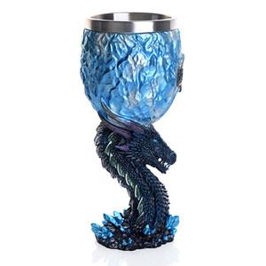 Kılıçlar Viserion Beyaz Walker Kupalar Noel Man Tahtı Mug ejderha Kadehi Şarap Glass House Stark Legends 1pcs Oyun