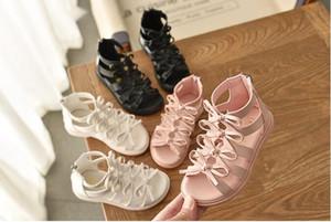 Meninas Gladiator Princesa Sandals miúdos criança bebê do verão Calçados Sandália MQM 010