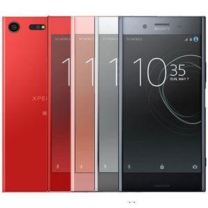 Rinnovato per Sony XZ Premium G8141 G8142 5.5 pollici 5pcs Octa core 4GB di RAM 64GB ROM 19MP + 13 MP 4G LTE Android sbloccato il telefono astuto DHL