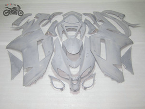 Unpainted carenagens da motocicleta bodykit para a Kawasaki Ninja 2007 2008 ZX6R ZX636 07 08 ZX 6R personalizar o seu próprio carenagens set