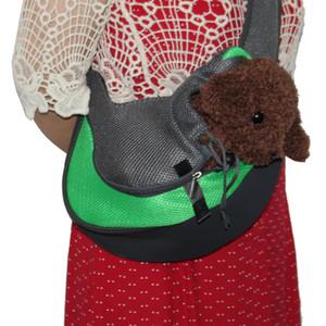 Pet Dog Sling Перевозчик Pet Сумка дышащая сетка Travel Safe Sling Bag Carrier для собак Кошки