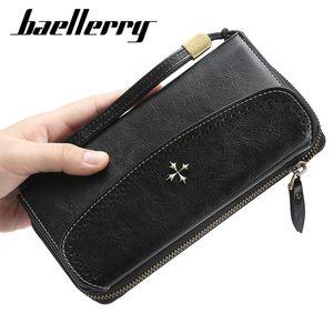 2019 Long Women Wallets Large Wallet Fashion Top Quality PU Leather Card Holder Female Purse Zipper Big Wallet For Women