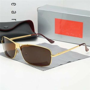 The latest sunglasses, high quality glasses, both men and women can wear, there is no label on the product, but actually there is a label on