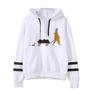 Hot New Billie Eilish Hoodies Sweatshirt Women Fashion Letter Printed Plus Size Pullover Hoodies Female Autumn Winter Tracksuit