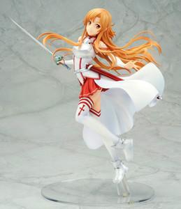 애니메이션 소드 아트 온라인 바꿔 유키 Asuna Kirito PVC 액션 피규어 모델 컬렉션 생일 선물 장난감