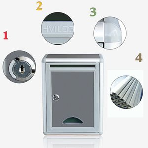 High Security Locking Wall Mounted Mailbox Office Drop Comment Document Box Letter Box Deposit Box Post Boxes