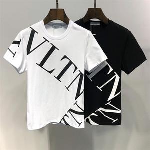 2019 Été Nouvelle Arrivée Top Qualité Valen Designer Vêtements Hommes T-shirts Imprimé Tees M-3XL 6407