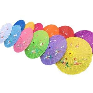 Взрослые размер японский китайский Восточный зонтик ручной работы ткань Зонтик для свадебной вечеринки фотографии украшения зонтик реквизит конфеты цвета